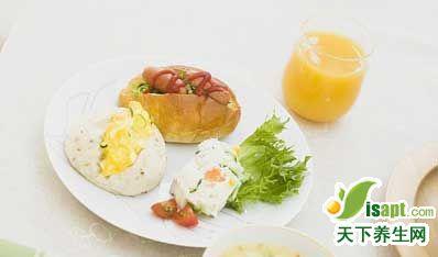 早餐第一口吃什么最养生?