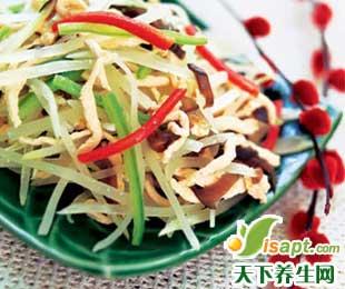10种冬日餐桌保健菜