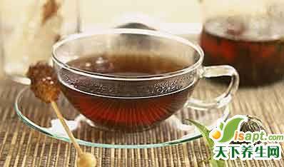 美白减肥:柠檬玄米茶