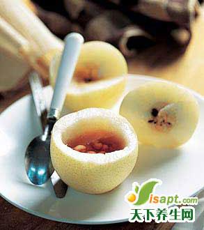 梨子的中医食疗保健功效
