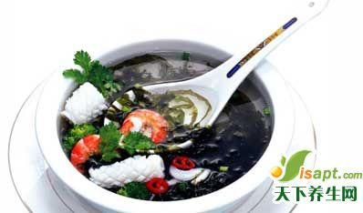 海藻-女性的健康食品