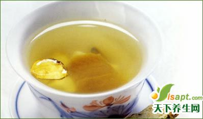 茶饮法治疗口疮