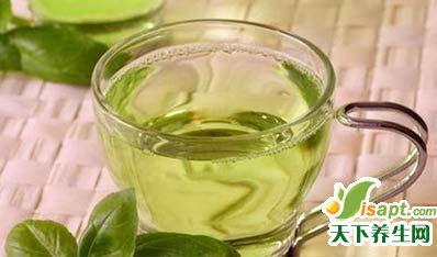 咽痛虚火旺喝绿茶加冰糖