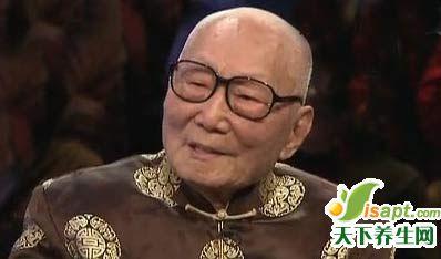 国医大师颜正华谈自己的养生心得