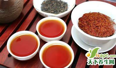 保健养生的减肥药茶