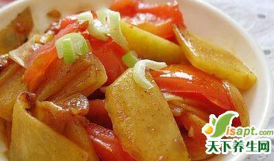 番茄搭配4种菜很营养