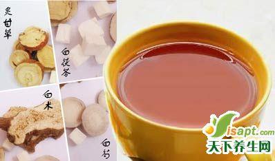 中医美容古方:3白汤