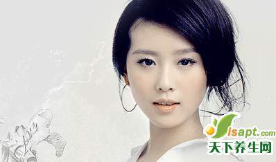 刘诗诗分享独家保养法