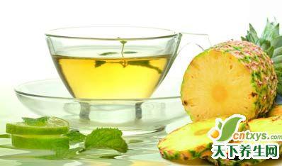 菠萝食疗方5则