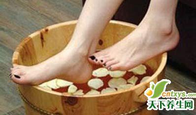 家庭足浴疗法