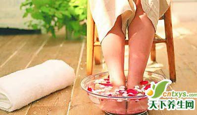 春季泡脚法