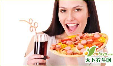 快餐对大脑的4大副作用
